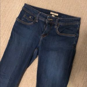 Burberry Skinny Jeans With Zippers
